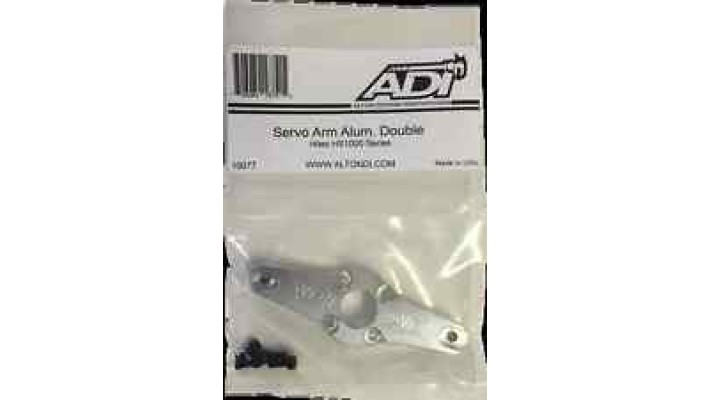 Alloy Horn for Hitec HS-1000SGT Losi Servo Kit (Double Sided)