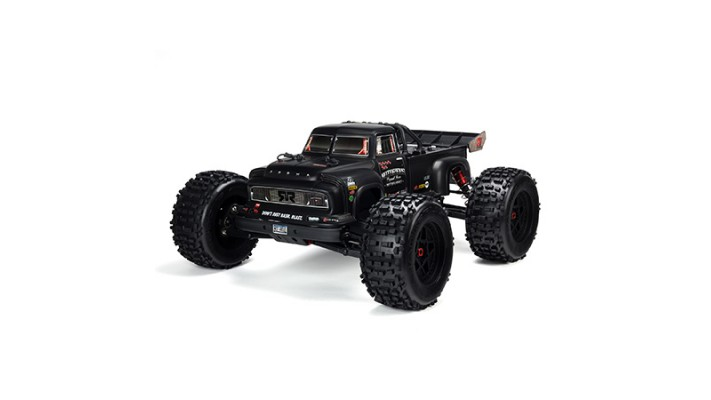 Arrma Notorious 6S BLX Brushless RTR 1/8 Monster Stunt Truck (Noir)