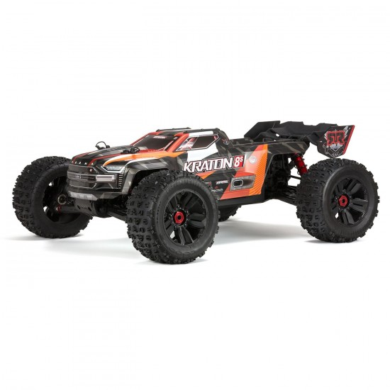 Combo Batterie 1/5 KRATON 4X4 8S BLX Brushless Camion RTR,Orange