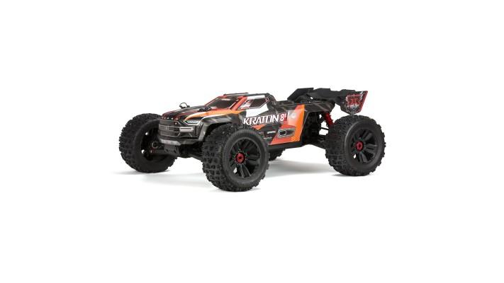 Combo Batterie 1/5 KRATON 4X4 8S BLX Brushless Camion RTR,Orange