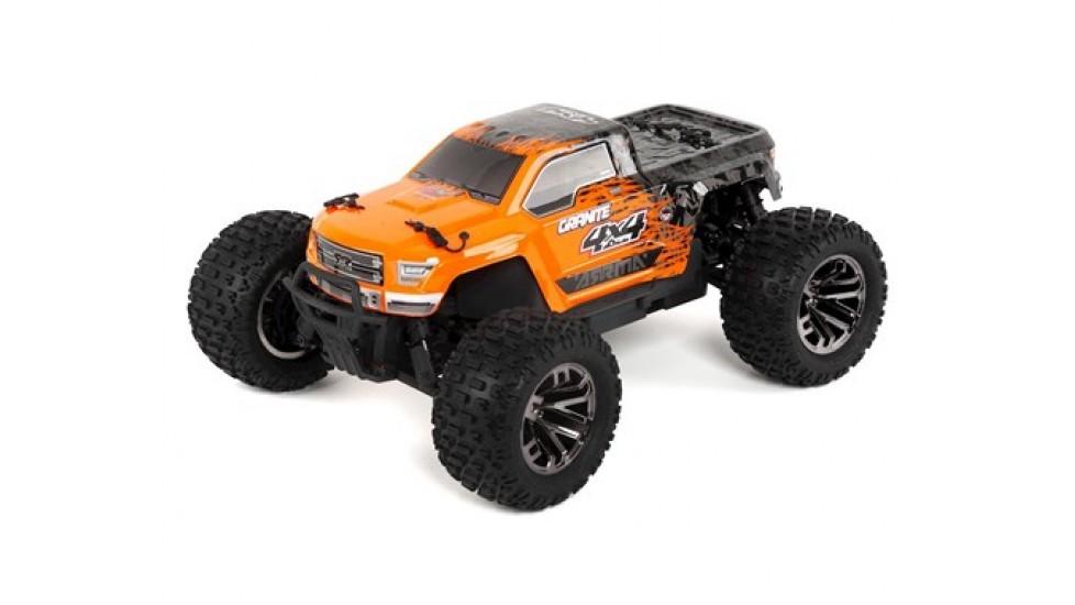 Arrma Granite 4X4 3S BLX 1/10 RTR Brushless Monster Truck (Orange/Noir)