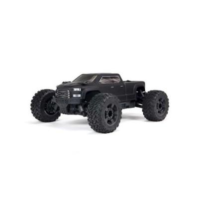 Arrma Big Rock 4X4 V3 3S BLX 1/10 RTR Brushless Monster Truck (Black) w/Spektrum SLT3 2.4GHz Radio