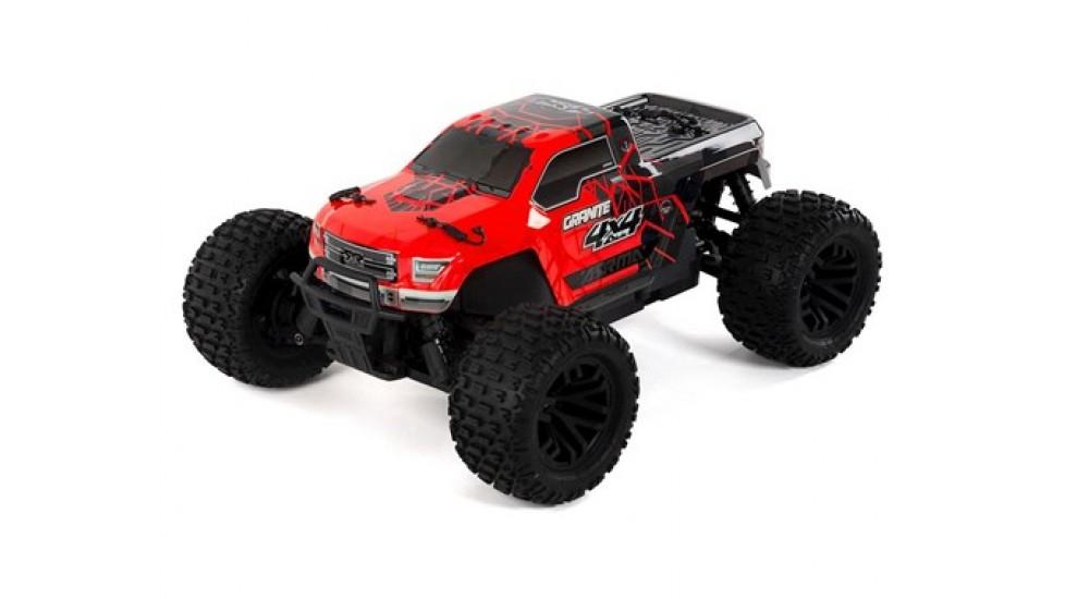 Arrma Granite 4x4 Mega RTR Monster Truck (Rouge / Noir)