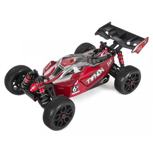 Arrma Typhon 6S BLX Brushless RTR 1/8 4WD Buggy (Rouge / Noir)