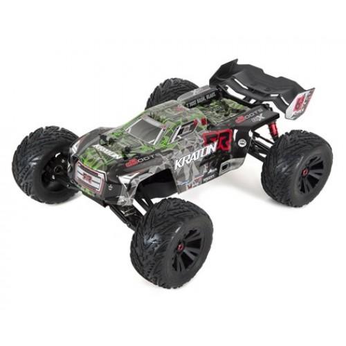 Arrma Kraton 6S BLX Brushless RTR 1/8 4WD Camion Monstre (vert / noir)