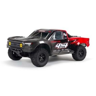 Arrma Senton 4x4 V3 550 Mega RTR 1/10 Short Course Truck (Red) w/Spektrum SLT3 2.4GHz Radio