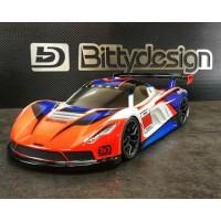 Bittydesign Venom 1/10 GT Carrosserie (Clair) (190mm)