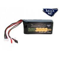 Bt294 - Batterie Killer RC 3600mAh 14.8v RX Lipo pour Servomoteur Losi / Hitec HS-900SGS