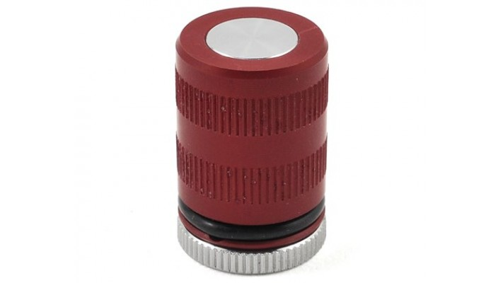 GHEA Racing Products Jauge de hauteur d'aluminium (30-45mm) (Rouge)
