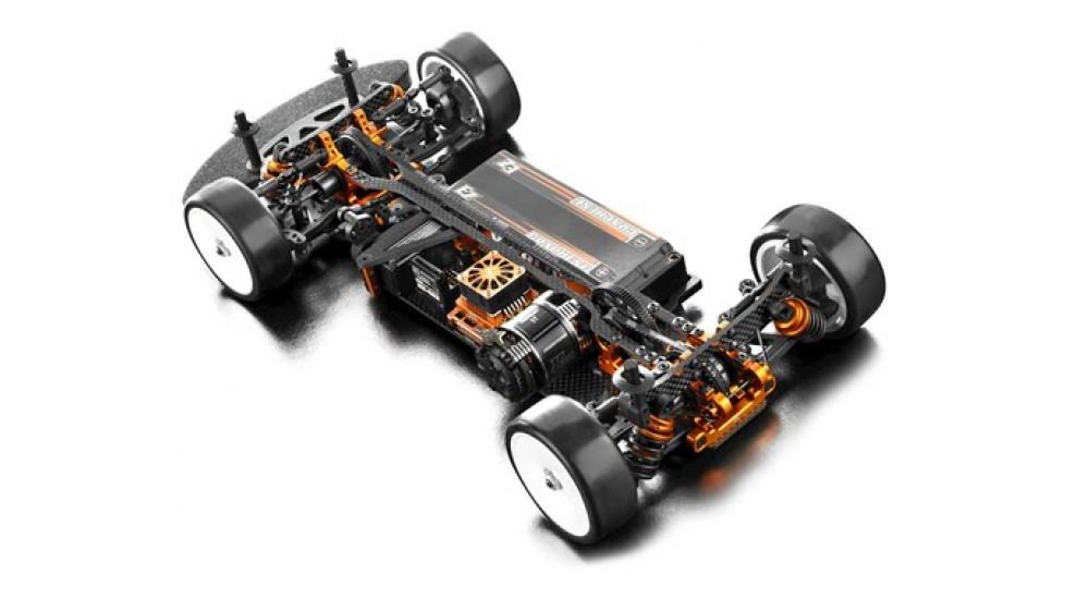 XRAY T4 2019 1/10 Kit de châssis en aluminium pour voiture de tourisme électrique