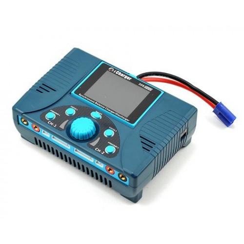 Chargeur de batterie Junsi iCharger 308DUO Lilo / LiPo / Life / NiMH / NiCD DC (8S / 30A / 1300W)