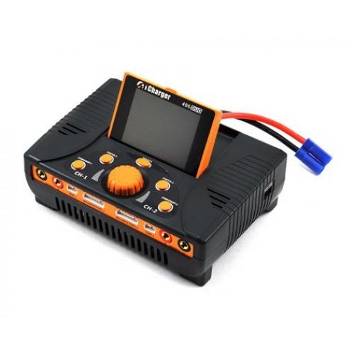 Chargeur de batterie Junsi iCharger 406DUO Lilo / LiPo / Life / NiMH / NiCD DC (6S / 40A / 1400W)