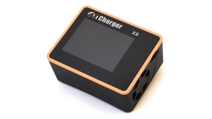 Chargeur de batterie DC Junsi iCharger X6 Lilo / LiPo / Life / NiMH / NiCD (6S / 30A / 800W)
