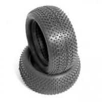 """JConcepts Flip Outs 2.2"""" avant 4WD Buggy pneu (2) (vert)"""