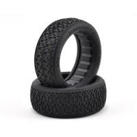 JConcepts Dirt Webs 60mm 4WD pneu avant (2) (Or)