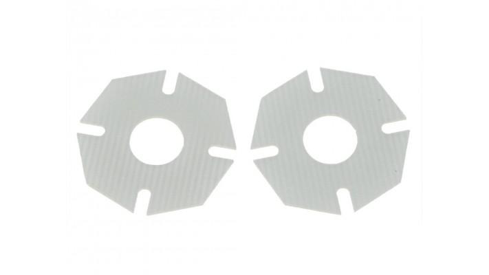 Ensemble de coussins de souliers ventilés FR4 High Bite, AE / Yokomo