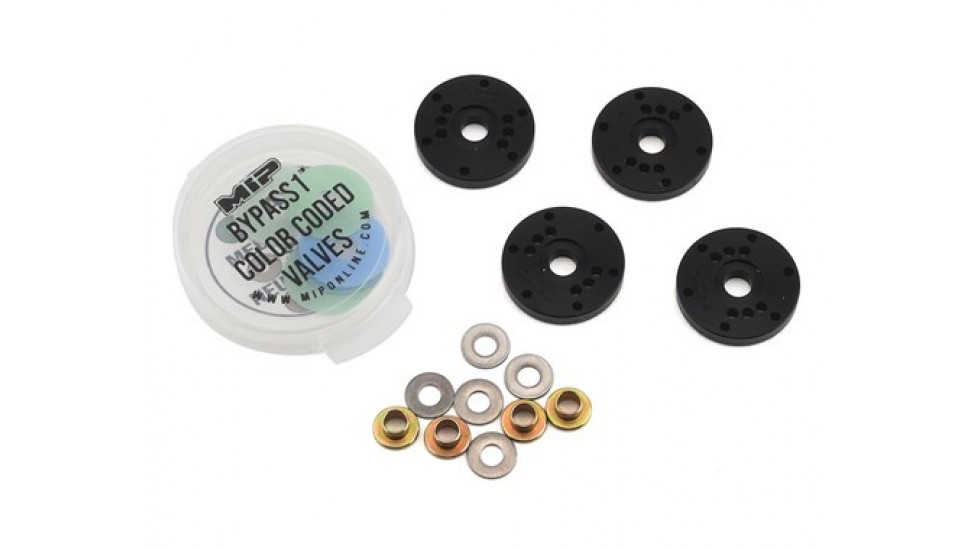 MIP TLR 16mm 6 trous Bypass1 Piston Set (4)