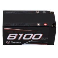 Batterie LiPo Maclan HV Graphene 4S Shorty avec balles de 5 mm (14.8V / 6100mAh)