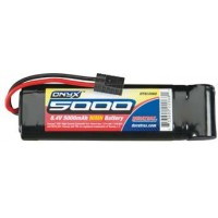 DuraTrax Onyx 7-Cell NiMH batterie avec connecteur traxxas (8.4V / 5000mAh)