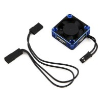 ProTek RC 30x30x10mm Aluminium High Speed HV Cooling Fan (Bleu / Noir)