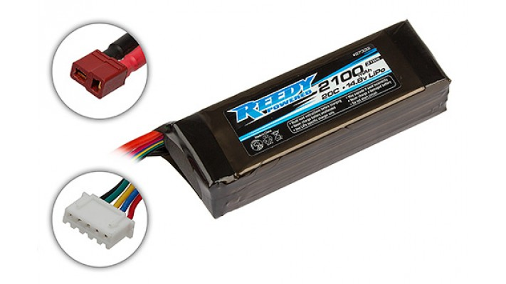 Reedy 4S banc de démarage LiPo Batterie 20C (14.8V / 2100mAh)