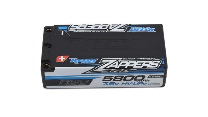 Reedy Zappers HV SG2 2S Shorty 80C LiPo Battery (7.6V/5800mAh)