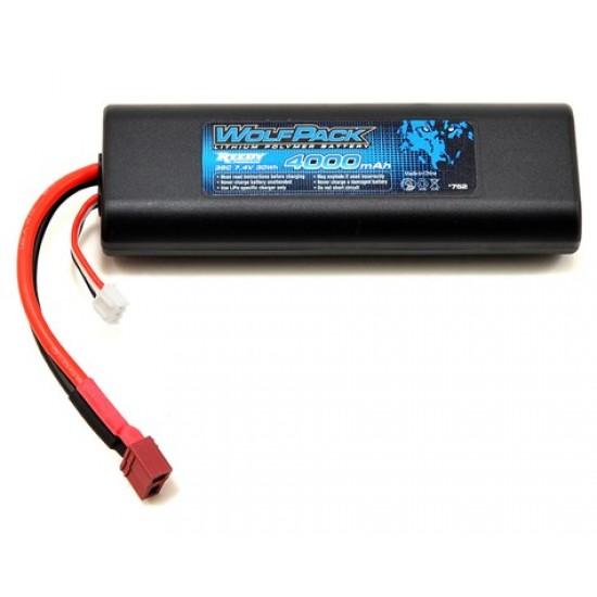 Reedy WolfPack Gen2 2S Housse LiPo 35C (7.4V / 4000mAh) à boîtier rigide