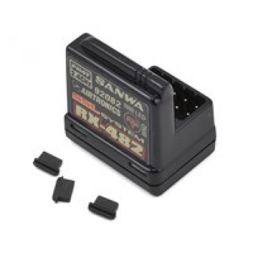 Sanwa / Récepteur de télémétrie SSL FHSS-4 4 canaux 2,4 GHz RX-482