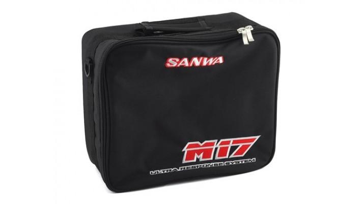 Sac émetteur Sanwa / Airtronics M17 avec bandoulière