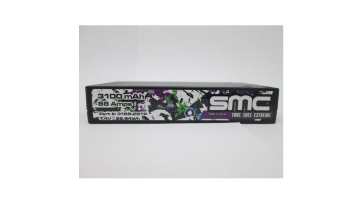 Vrai  Spec Extreme 7.4V 3100mAh 88 Amps/150C Shorty 5mm