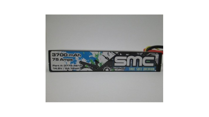 True Spec Premium 14.8V 3700mAh 75 Amps / 90C