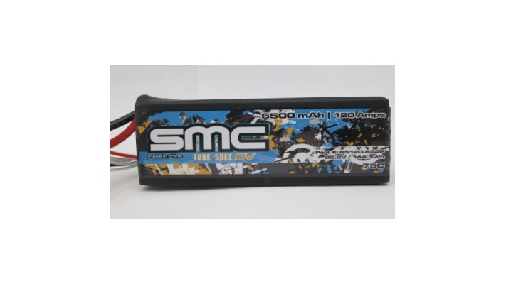 True Spec DV 22.2V 6500mAh 120Amps/75C with G10 plates