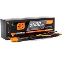 5000mAh 4S 14.8V 100C Smart LiPo Short; 5mm Tubes