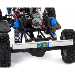 Team Associated CR12 Toyota FJ45 Camion RTR 1/12 4RM Rock Crawler (Bleu)