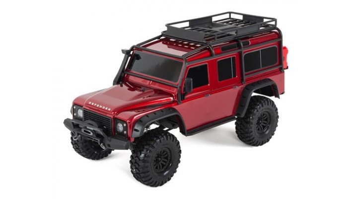 Traxxas TRX-4 1/10 Scale Trail Rock Crawler w/Land Rover Defender Body (Rouge)