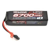 "Batterie LiPo 25C ""Power Cell"" Traxxas 4S avec connecteur Traxxas iD (14.8V / 6700mAh)"