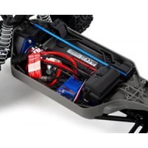 Traxxas Rustler 4X4 1/10 4WD RTR Stadium Truck (Bleu)