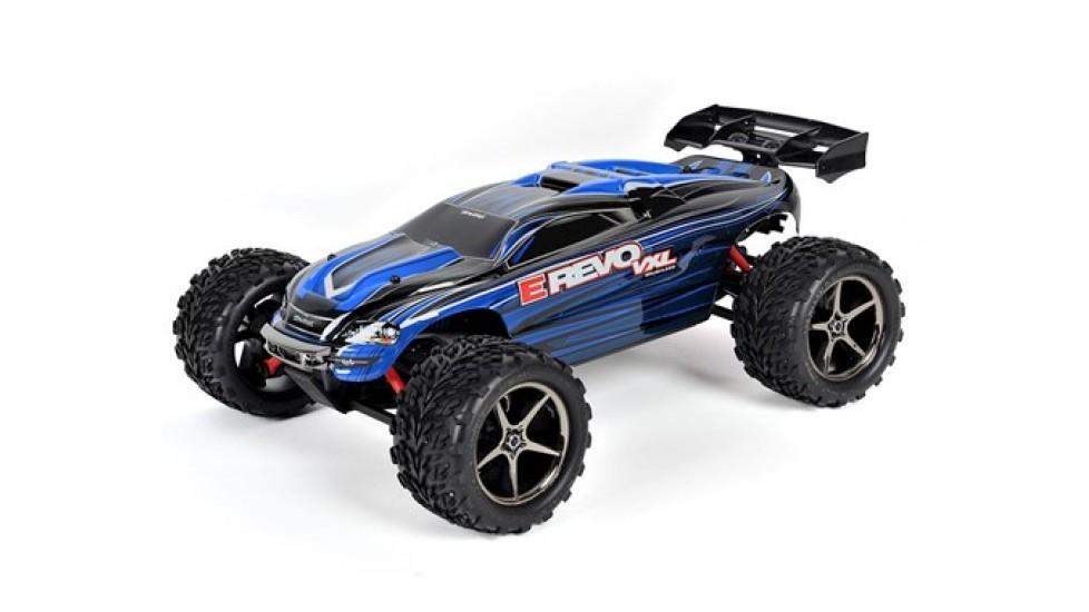 Traxxas E-Revo VXL 1/16 4WD Brushless RTR Truck (Bleu)