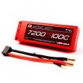 Venom 100C 2S 7200mAh 7.4V LiPo Batterie boitier rigide  ROAR approuvée