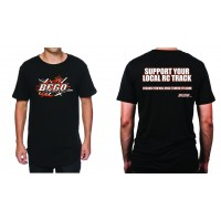 Bego Racing T-shirt Noir 2018