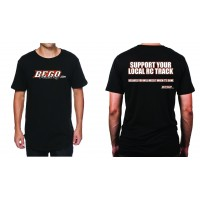 Bego Racing T-shirt Noir