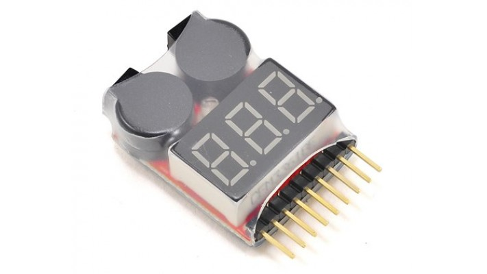 LiPo Voltage Checker w/Warning Alarm