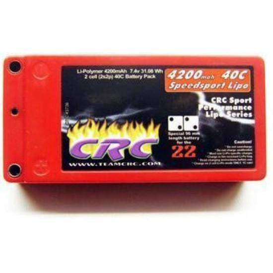 Speedsport Shorty 7.4V 4200mah 40C ,4mm