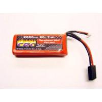 Calandra Racing Concepts (CRC) 7.4V 2600MAH 2S 20C Batterie