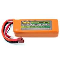 "Batterie EcoPower ""Electron"" 4S LiPo 20C (14.8V / 2000mAh)"