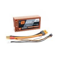 Spektrum RC 2S 50C Smart LiPo Shorty Pack Batterie w/Tubes (7.4V/5000mAh)