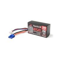 Dynamite Reaction 2S 20C boitier rigideLiPo Batterie w/EC2 Connecteur (7.4V/650mAh)