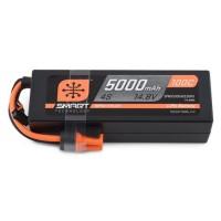 Spektrum RC 4S Smart LiPo boitier rigide 100C Batterie Pack avec connecteur IC5 (14.8V / 5000mAh)