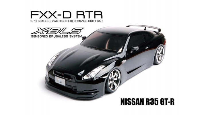 MST RMX 2.0 1/10 2WD Brushless RTR Drift Car w/Nissan R35 GT-R Body
