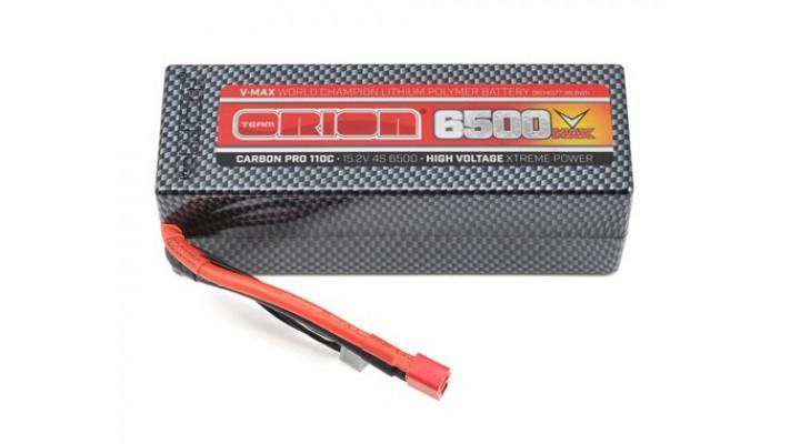 Team Orion 4S carbone V-Max 110C LiPo  batterie  Deans (15.2V / 6500mAh)